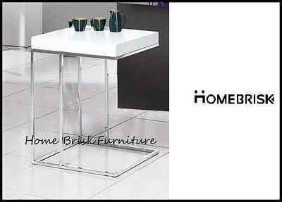 【宏興HOME BRISK】A306型白色方型小茶几/洽談桌/邊几,台北、桃園、基隆免運費《SN新品》