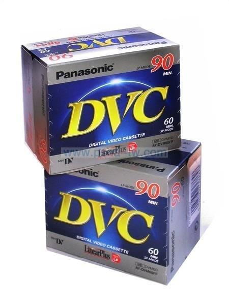 ~P-sha~Panasonic國際牌5入包 MiNi DV空白攝錄影帶【 AY-DVM60FF 】DV帶