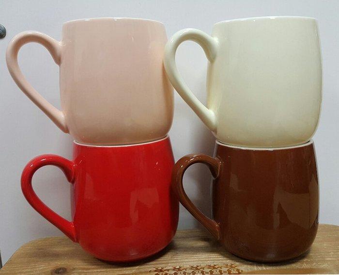 【無敵餐具】台製厚瓷可朵杯/咖啡杯/馬克杯-11色(425cc)可堆疊 量多歡迎詢價可來電洽詢優惠價喔【A0271】