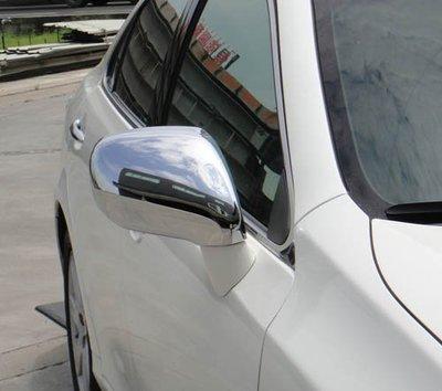 易車汽配 Lexus 2006~2009 ES300 ES330 ES350 質感改裝 鍍鉻銀後視鏡蓋飾貼 防撞後照鏡蓋