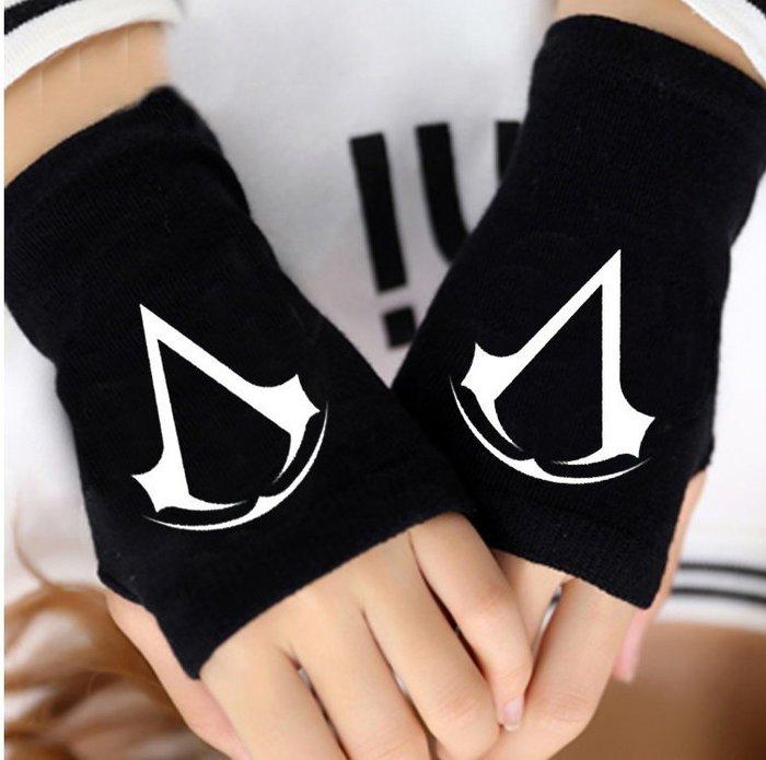 刺客 手套 黑色  cosplay cos 運動手套【MC05】