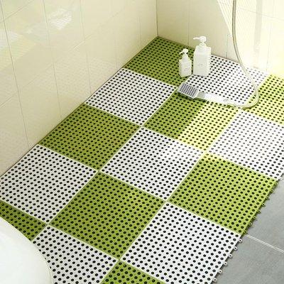 浴室防滑墊衛生間大號拼接地墊廚房洗澡淋浴衛浴廁所陽臺塑料腳墊 js1725