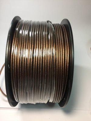 189芯10米200元 售完即停 現貨OFC無氧銅10米  378芯單邊189芯喇叭線 音箱線