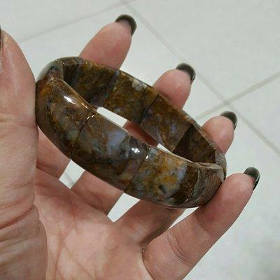 天然水晶 玉化彼得石手排