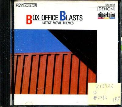 *真音樂* BOX OFFICE BLASTS / LATEST MOVIE THEMES 日版 二手 K13726 (無IFPI)