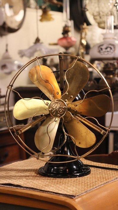 教您如何分辨真假奇異古董電風扇        布朗史維克西洋古董