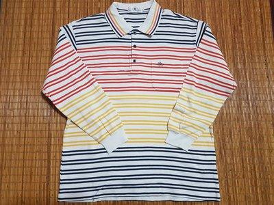 (抓抓二手服飾)  PIERRE BALMAIN 皮爾帕門  POLO衫   XL  (#83)