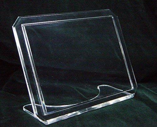 壓克力透明立式相框(5*7) 壓克力相框 透明相框