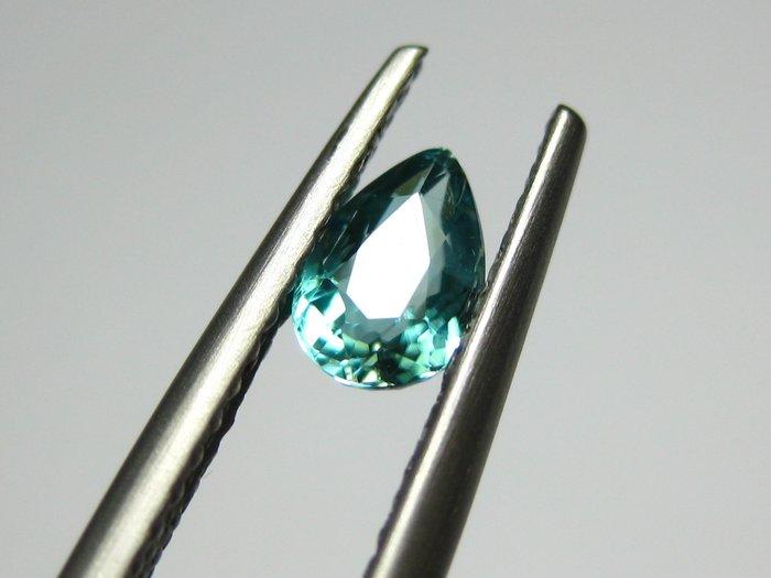 【Texture & Nobleness 低調與奢華】天然無處理 硅硼鎂鋁石(Grandidierite) 0.44克拉