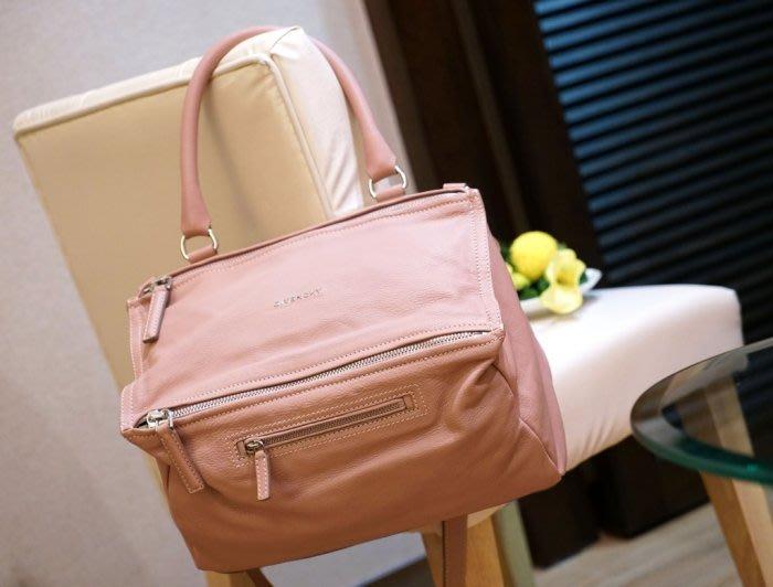 Givenchy Pandora bag 中型山羊皮紀梵希潘朵拉慾望肩粉紅 1546494297ee5