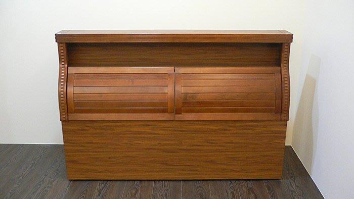 樂居二手家具 台中全新中古傢俱*ZH405全新樟木5尺床頭櫃*5尺床頭櫃 樟木床頭櫃 全新雙人床頭櫃 衣櫥 收納櫃