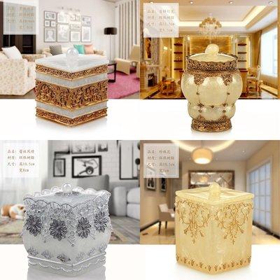 歐式棉簽盒牙簽盒帶蓋創意家用珠寶盒便攜式桌面收納整理化妝棉盒#收納盒#居家#方便#創意