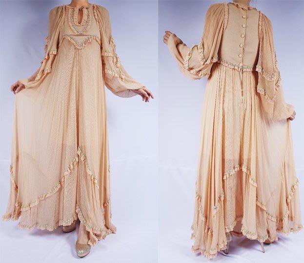 夢幻浪漫款歐洲古董紗/蕾絲洋裝 - 魔幻甜心購物網(定價再享9折)