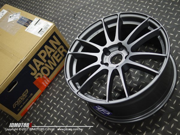 JD-MOTORS RAYS  57XTREME STD SPEC 17/18/19吋 輕量化鋁圈