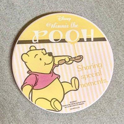 WAN WAN 日本亂亂買。線上預購區。迪士尼。小熊維尼。winnie the pooh。吸水。杯墊