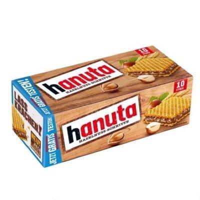 德國 hanuta 經典榛果巧克力夾心餅乾 10片裝