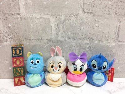 【Dona日貨】日本正版 迪士尼星際寶貝史迪奇黛西怪獸大學毛怪桑普 小沙包娃娃/不倒翁玩偶 B44
