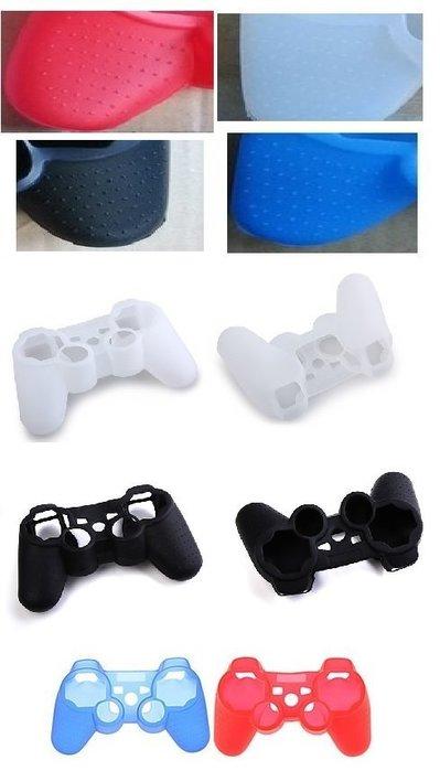 [哈GAME族]PS3 無線控制器 遊戲手把 握把 搖桿 果凍套 保護套 矽膠套 防滑顆粒 高品質