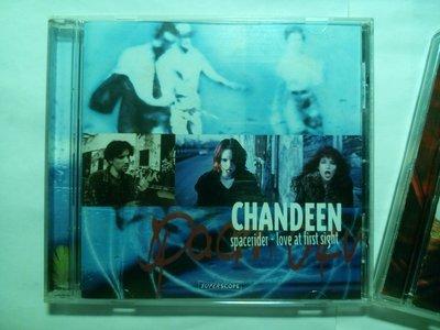 德國美聲CHANDEEN 展露流行野心的 Spacerider Love at First Sight 專輯CD