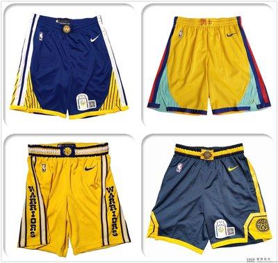 國際球店 金州勇士 Swingman球褲短褲 Nike Icon標志版 City城市版 HWC復古