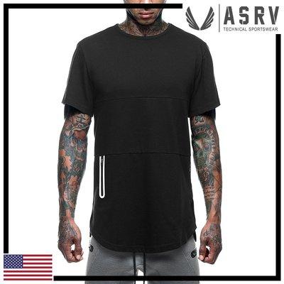 瘋狂金剛▸ 黑 ASRV Essential Utility Tee 抗臭阻菌短袖T恤 運動 健身