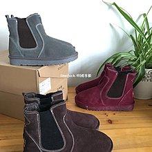litterluck-韓國專櫃毛豆大碼鞋 內銷庫存 niu反皮面 zhen皮 平底 雪地靴 加厚35-39碼