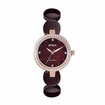 [時間達人]法國BIBA 碧寶錶 26mm 原廠公司貨 藍寶石鏡面 巧克力色陶瓷錶   B31TC050T 高雄市