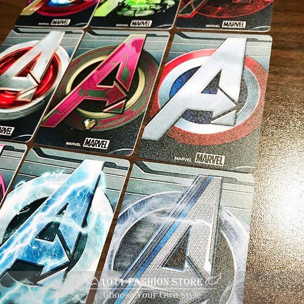 MARVEL AVENGERS 復仇者聯盟 鋼鐵人 美國隊長 雷神 浩克 icash2.0 悠遊卡 限量卡貼