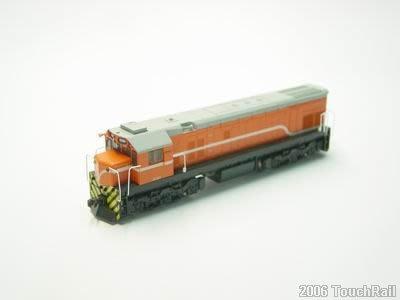 【喵喵模型坊】TOUCH RAIL 鐵支路 1/150 柴電機車/橘色動力版 (NR1001)