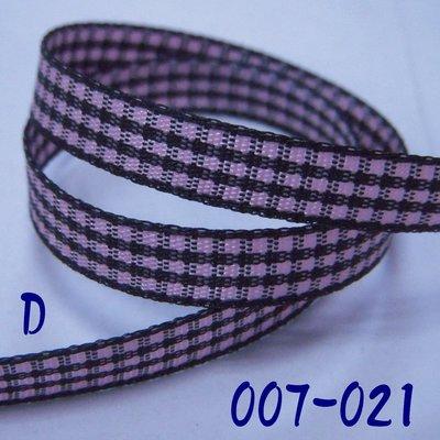 2分格子帶(007-021)※D款※~Jane′s Gift~Ribbon用於包裝及服飾配件