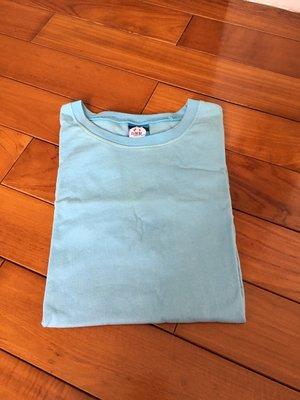 台灣製 棉T 素色 潮流 設計 T恤 潮TEE 淺藍色 特價優惠