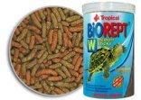 免運~新鮮魚水族館~德比克 Tropical Biorept w U-T11366 高蛋白烏龜成長主食 條狀飼料 1L