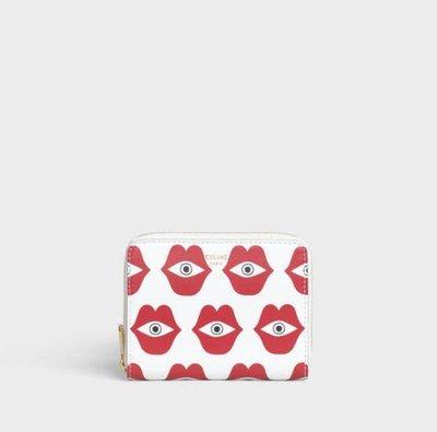 [Ohya精品代購] 2019 全新代購 Celine ZIPPED WALLET LOVE 拉鍊 牛皮 零錢包