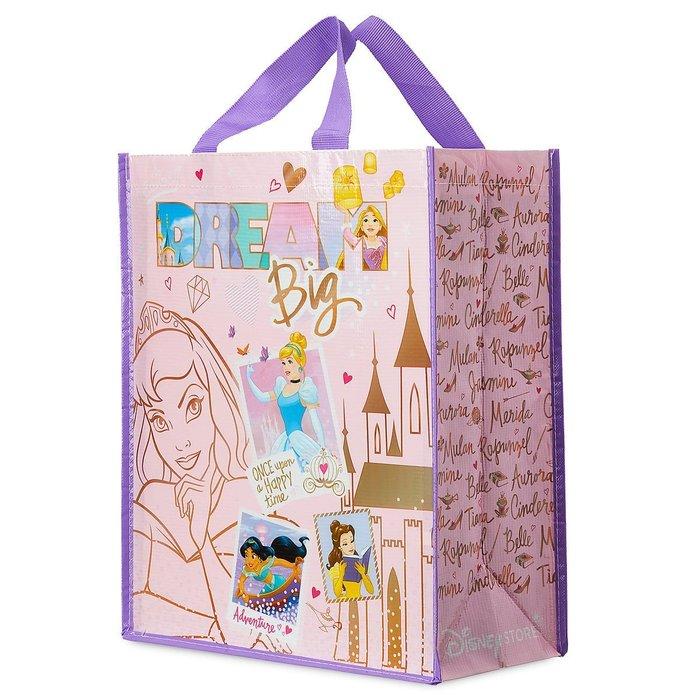 現貨【迪士尼 Disney】全新美國正品 經典款 公主系列 購物袋 禮物提袋【寬32 x 高39 x 厚16 公分】