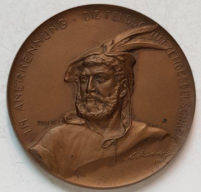 瑞士銅章1912 St. Gallen Rorschach Bronze Medal.