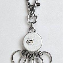 尋寶新天地*日本進口GUARD 輕量360度全方向鑰匙鎖鑰匙圈401型.可勾掛手提包包公事包隨身背包.整齊高尚品味生活