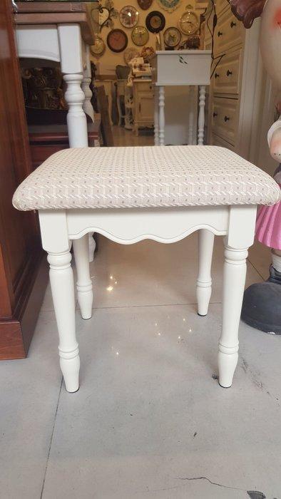 化妝椅 南法鄉村風化妝椅原木化妝椅妝椅鏡台椅書桌椅