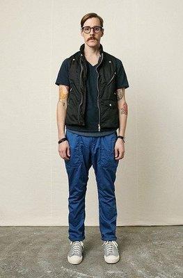 特價「NSS』NONNATIVE HIKER TROUSER CH HERRINGBONE 藍 工作褲 休閒褲 日本製