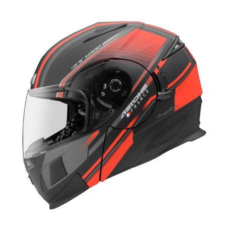 瀧澤部品 法國 ASTONE RT1000 可樂帽 AB15 平光黑紅 汽水帽 半罩全罩安全帽 通勤 內藏墨片 機車重機