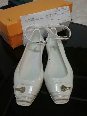 FENDI雨天防水PVC 娃娃鞋果凍鞋