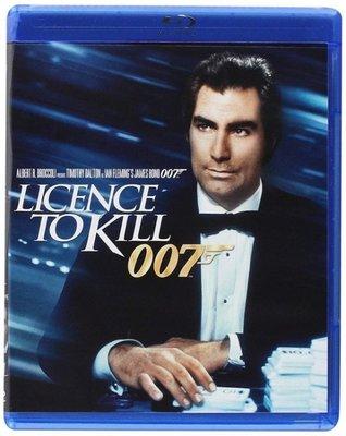BD 全新美版【007 殺人執照】【Licence to Kill】Blu-ray 藍光