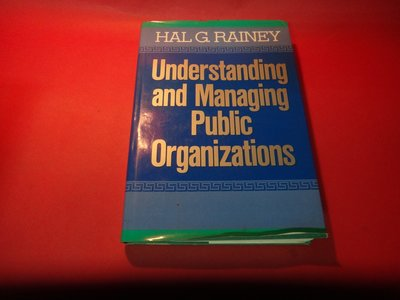 【愛悅二手書坊 21-13】Understanding and Managing Public Organization