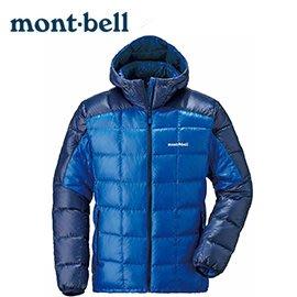 丹大戶外 日本【mont-bell】Light Alpine 800FP男款羽絨外套/靛藍 1101464 ID/RB