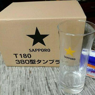 Sapporo玻璃杯6隻