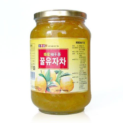 高麗購◎正友韓國蜂蜜柚子茶1公斤X4瓶 960元. 免運/可刷卡 魔鬼甄超HOT團購美食