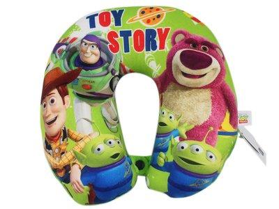 【卡漫迷】玩具總動員 頸枕 ㊣版 Toy Story 三眼怪 熊抱哥 胡迪 巴斯 U型枕 午休枕 午安枕 扣子 柔軟舒服