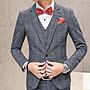 【NoComment】英倫時尚 質感簡約 格紋式全套式西裝 三色 G2000 ZARA