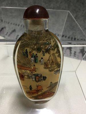 古董 手工內畫鼻烟壺 (款式2)收藏品