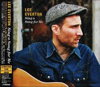 K - Lee Everton - Sing a Song For Me - 日版 +3BONUS - NEW