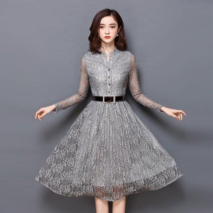 大小姐時尚精品屋~~婆婆媽媽宴會復古時尚A裙洋裝短禮服~3件免郵